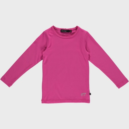 Pink basis bluse fra Minymo