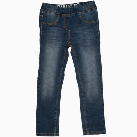Denim jeggings fra Minymo