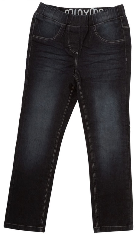 Mørk denim jeggings fra Minymo
