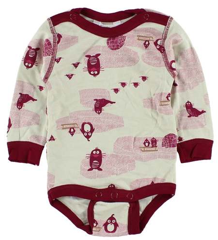 Joha Body - Bambus - Creme/bordeaux